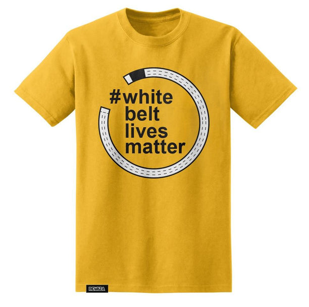 Newaza White Belt Lives Matter Tee - Fighters Market