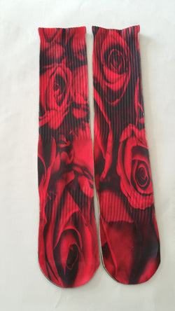 Rose Socks - Forever Rich Clothing