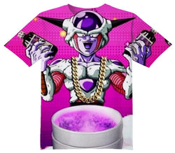 Frieza Codeine Tee Shirt - OFFICIAL ShirtJunky™ - All Over Print Apparel