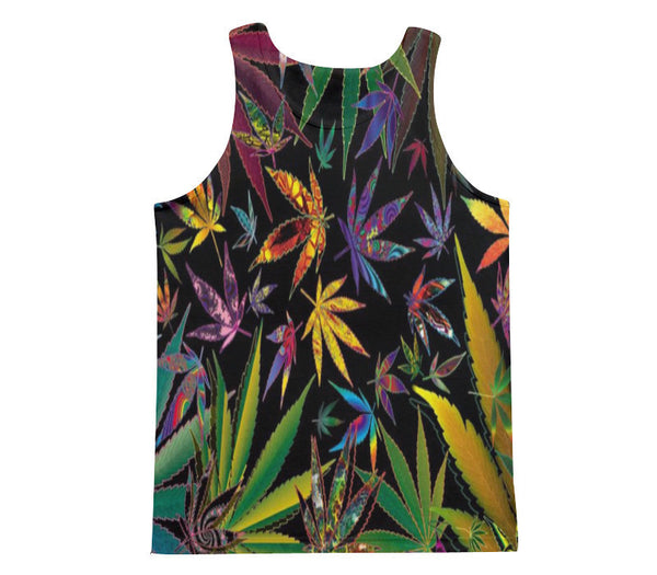MARIJUANA TANK TOP - Forever Rich Clothing