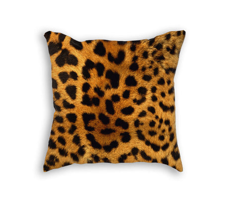 LEOPARD PRINT PILLOW - Forever Rich Clothing