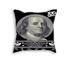 BEN FRANKLIN PILLOW - Forever Rich Clothing