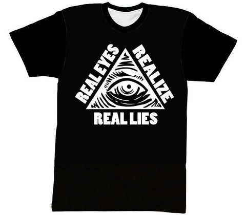 REAL LIES TEE - Forever Rich Clothing