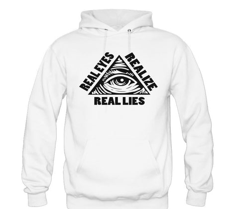 REAL LIES HOODIE - Forever Rich Clothing