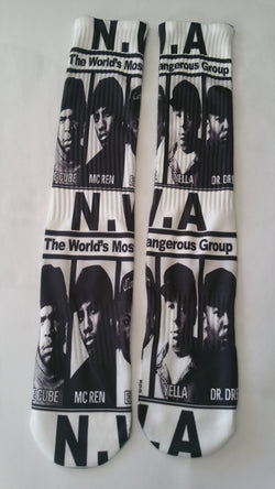 NWA Socks - Forever Rich Clothing