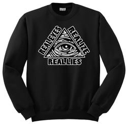 REAL LIES CREWNECK