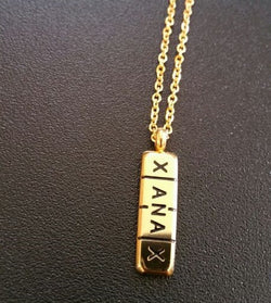 GOLD XANAX PILL CHAIN - Forever Rich Clothing