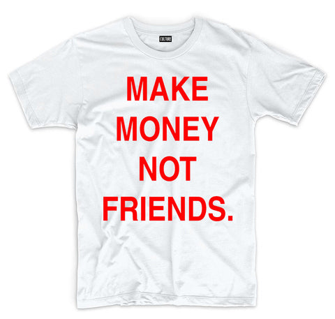 MAKE MONEY RED TEE