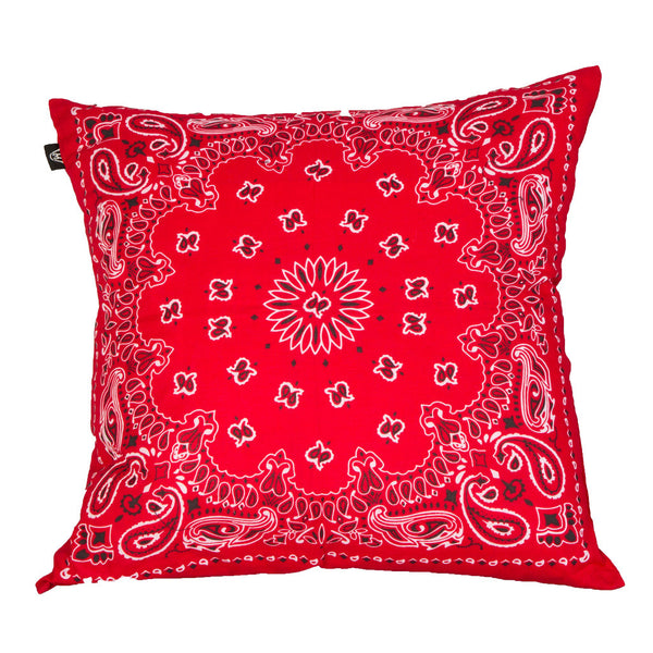 RED BANDANA PILLOW - Forever Rich Clothing