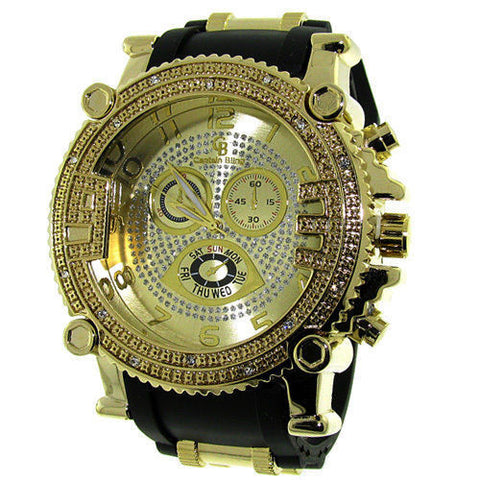 GOLD ICE WATCH - Forever Rich Clothing