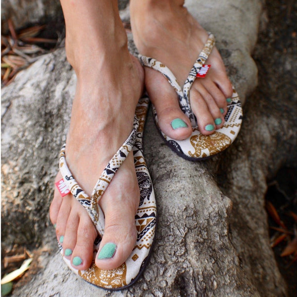 Handmade Elephant Rope Woman's Sandals - Sizes 4-10 US W - Tuk Tuk Sandals