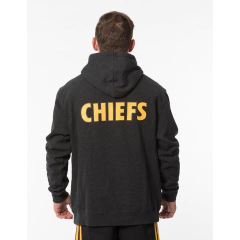 Chiefs Waikato Draught Pullover Hoodie - Grey Marle