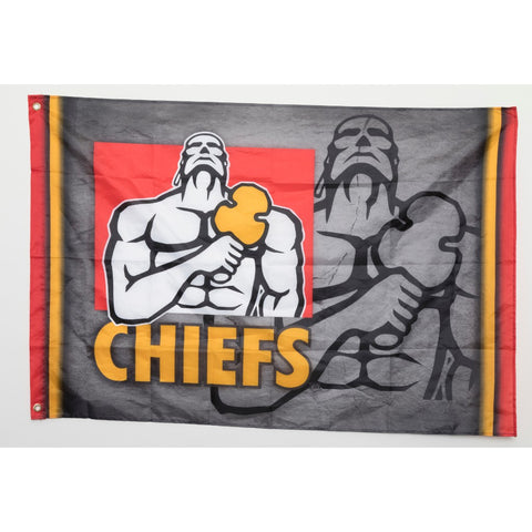 Chiefs Supporters Flag (1.2m x 0.8m) - Buy 1 get 1 half price!