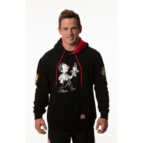 Chiefs & Waikato Draught Pullover Hoodie - Black