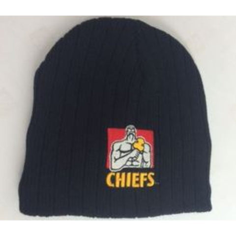 Chiefs Cable Knit  Beanie - Black