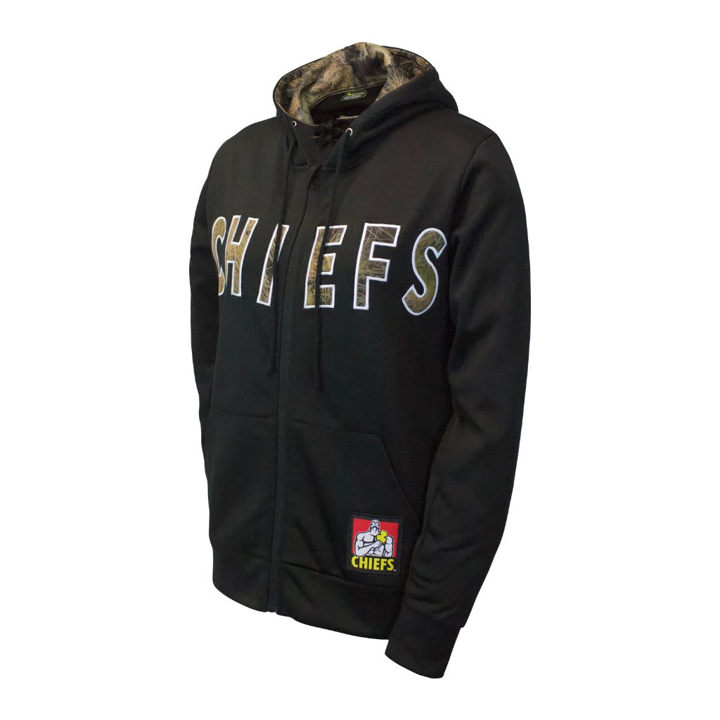 Chiefs Women's Zip Up Camo Hoodie