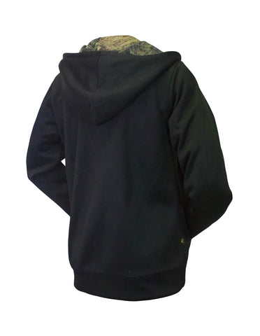 Chiefs Zip Up Camo Hoodie Ladies