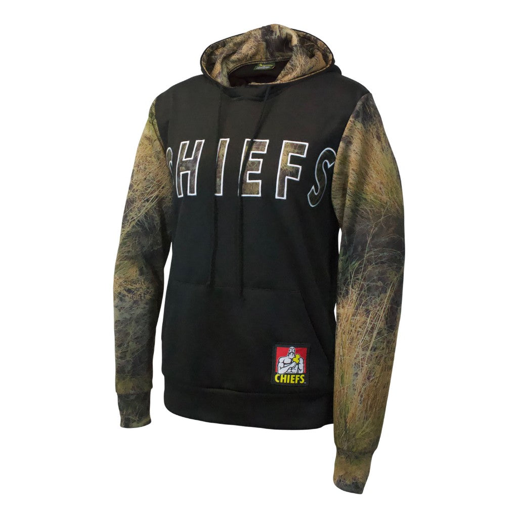 Chiefs Camo Pullover Hoodie Ladies