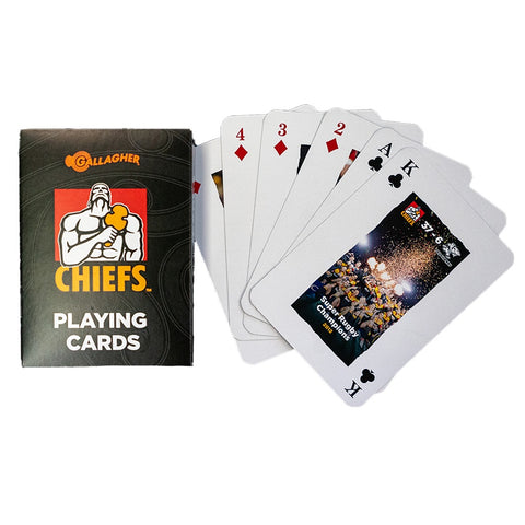Chiefs & Variety Playing Cards