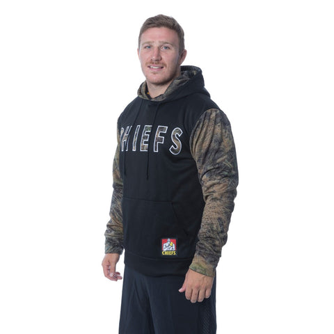 Chiefs Mens's Camo Pullover Hoodie