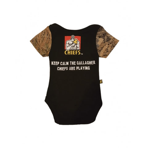Chiefs Infant Camo Jumpsuit
