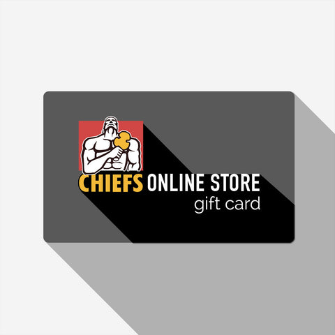 Chiefs Gift Card