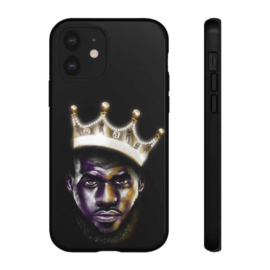 Lebron Jame Phone Case | King Me | Phone Case - Androo's Art