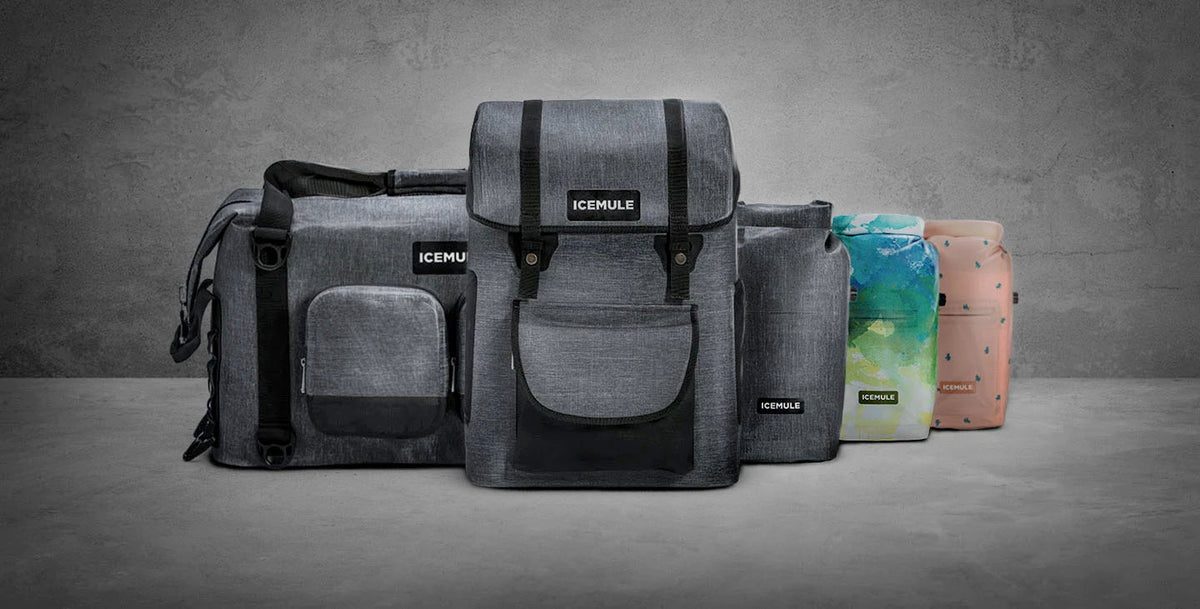 ICEMULE Coolers - Backpack and Soft-Side Coolers