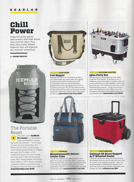 Men's Journal - Chill Power