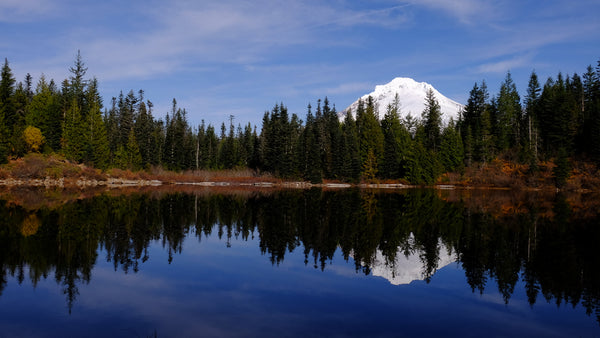 Mirror Pond, Oregon.