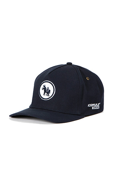 The ICEMULE Midnight Blue Full Panel Hat