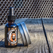 Rootbeer float beard oil and balm combo
