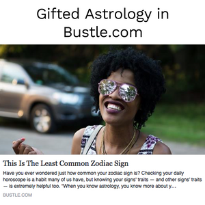 Gifted Astrology Talks About Rare Signs With Bustle.com