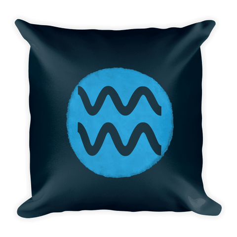 Gifted Astrology, pillow, Aquarius