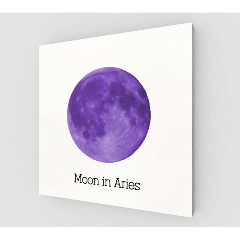 Moon In Aries on Canvas