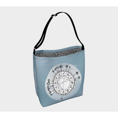 Blue Sky Custom Astrology Chart Day Bag