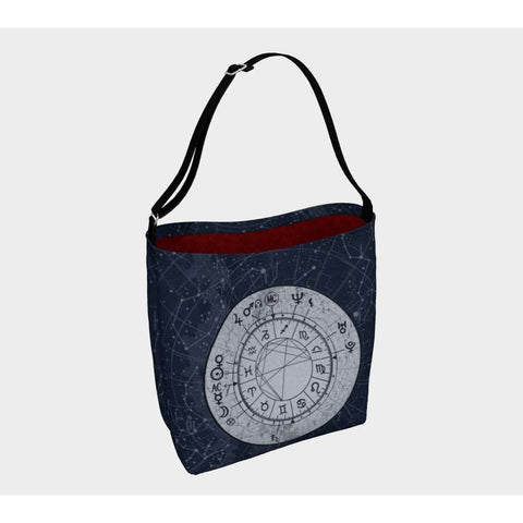 Constellation Sky Custom Astrology Chart Day Bag