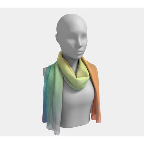Aries Over The Rainbow Scarf