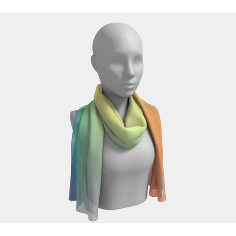 Virgo Over The Rainbow Scarf