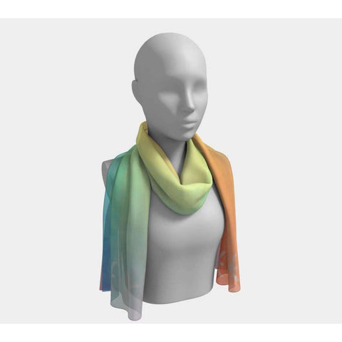 Pisces Over The Rainbow Scarf