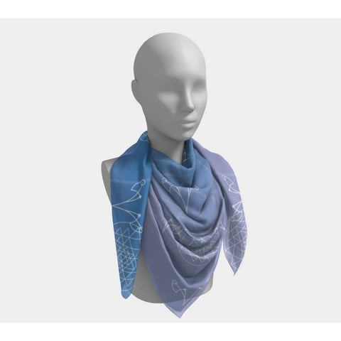 Gifted Astrology, Square Scarf, [product title]