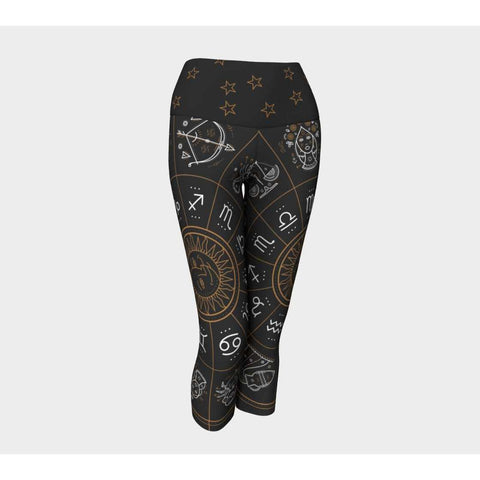 Gifted Astrology, Yoga Capris, [product title]