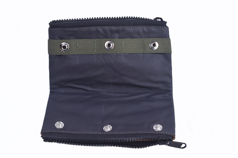 Pouch: Double Zipper [Olive]