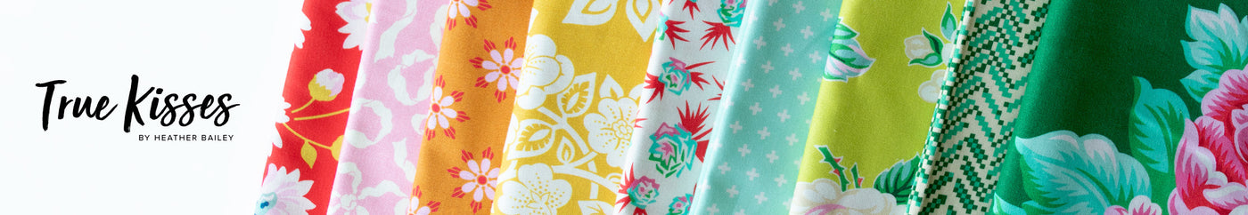 True Kisses by Heather Bailey for Figo Fabrics