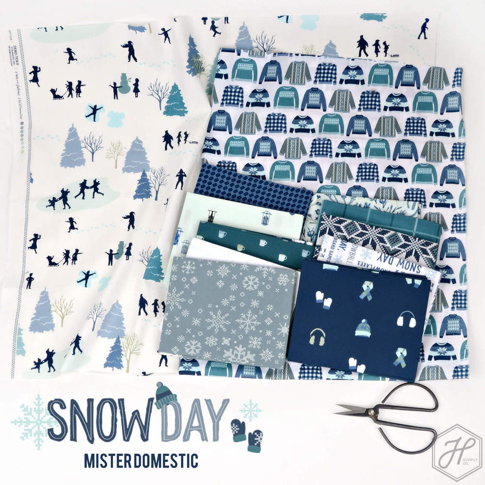 Snow Day by Mr. domestic for Art Gallery Fabrics