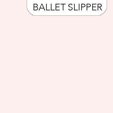 Northcott Colorworks - Ballet Slipper 207