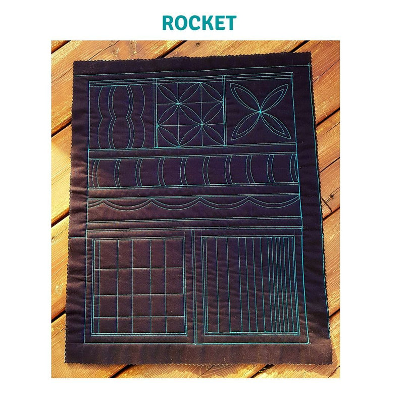 Silly Moon Quilting Co - Rocket