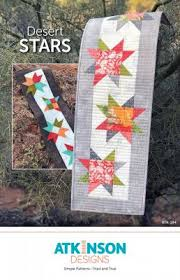 Desert Stars Table Runner Pattern