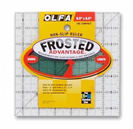 Olfa Frosted 6.5 inch Square Ruler