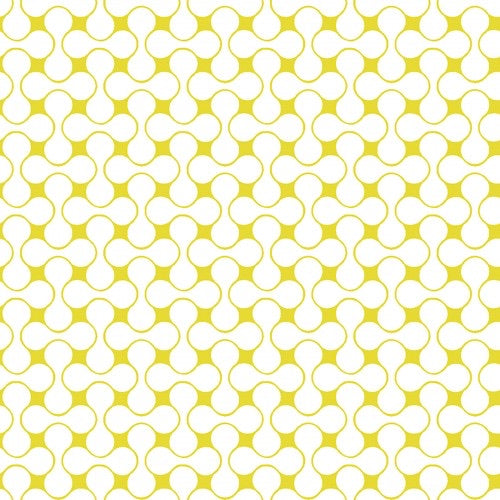 Good Vibes - Interconnected - Yellow/ White